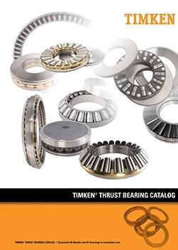Timken Thrust Bearing Catalog