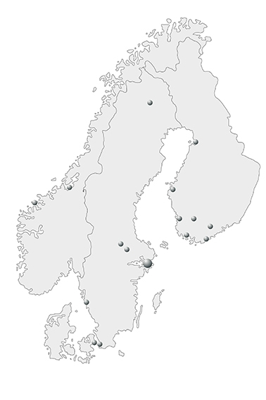 Nomo Group locations map